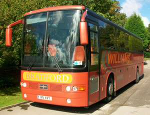 coach hire in bradford in yorkshire